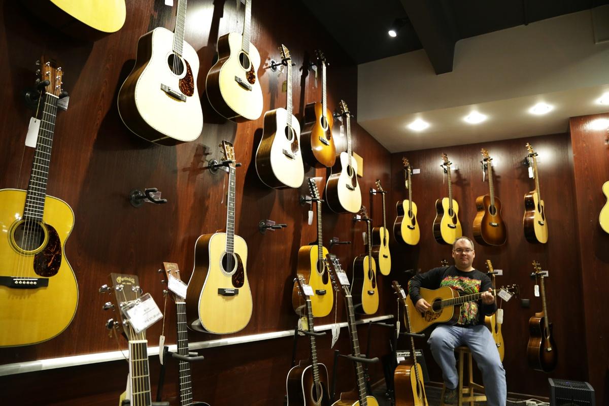 Салон музыкальных инструментов