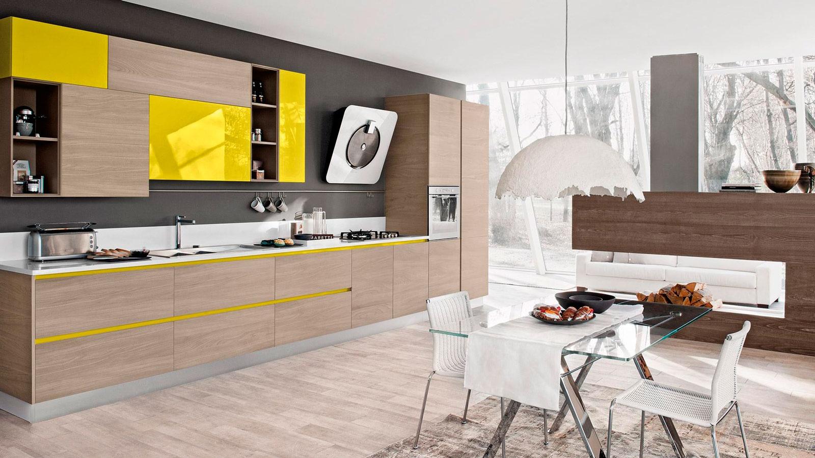 Прямые кухни дизайн 2017-2018 года новинки